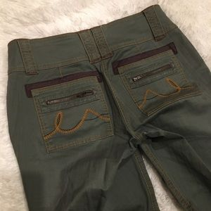 CAbi Cropped Boot Cut Pants